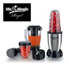 Mr. Magic Blender Royal (10-delig) #mrmagic #mrmagicblenderroyal #blender #bekendvantv Vans, Magic, Tv, Van, Television Set, Television