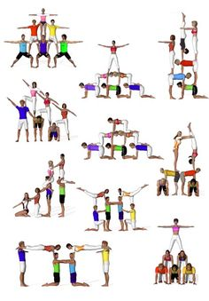 Yoga for Weight Loss: What you need know to succeed sextetos de acrosport Acro Yoga Poses, Dance Poses, Group Yoga Poses, Partner Yoga, Acro Danza, Chico Yoga, Cheer Stunts, Cheerleading Stunting, School Cheerleading