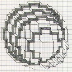 graph paper art - Google Search