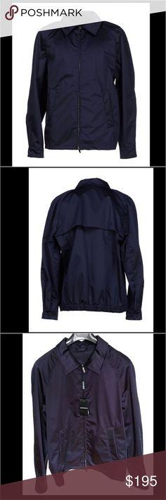 Emporio Armani Men's Jacket NWT authentic Emporio Armani Men's jacket. Size 54 (Large). Composition: Cotton, Silk, Polyester. Emporio Armani Jackets & Coats Lightweight & Shirt Jackets