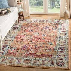 Shop for Safavieh Savannah Vintage Oriental Orange/ Grey Rug (5'1 x 7'6). Get free shipping at Overstock.com - Your Online Home Decor Outlet Store! Get 5% in rewards with Club O! - 23579708