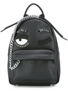 Shop Chiara Ferragni mini 'Flirting' backpack in Julian Fashion from the world's…