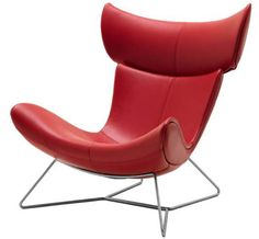 The Chic Imola Red Chair- Bo concept- Is this comfortable?