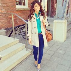 I am a fan of everything from the ankles up, but I am in luv with the shoes - this outfit is very cheerful | @Mimi Ikonn
