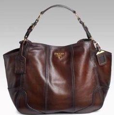 Prada Cacao Antik Cervo Deerskin Leather Hobo Bolso De Hombro $2,495.00 | Ropa, calzado y accesorios, Carteras y bolsos de mujer, Carteras y bolsos de mano | eBay!