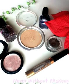 Never Without Makeup: The Christmas Advent Challenge Reloaded - Shine Bright like a diamond! Without Makeup, Blush, Eyeshadow, Diamond, Christmas, Beauty, Xmas, Eye Shadow, Blushes