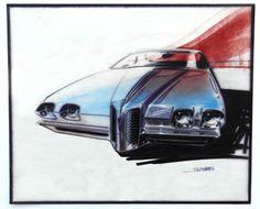 GM Studio Sketches & Richard Nesbitt's Mustang Tribute : Dean's Garage