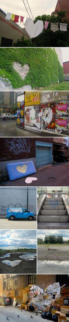 dead hearts: Roadsworth