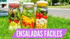Recetas de ENSALADAS y ADEREZOS faciles! ♡