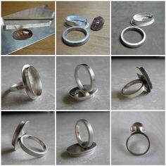 Savanna's Ring - Process Photos