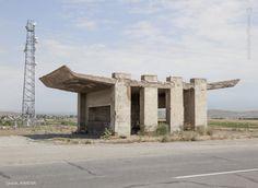 Bus Stop Saratak, Armenia