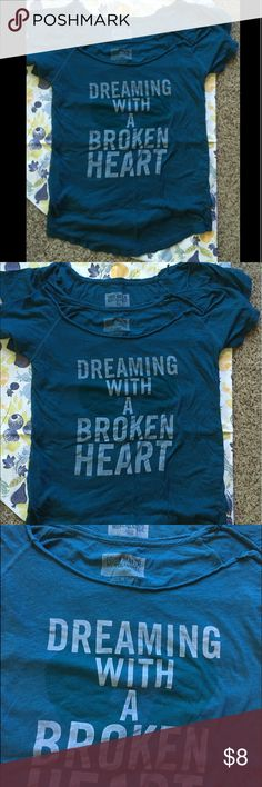 John Mayer Nightshirt in Medium or Large Dreaming with a broken heart nightshirt from John Mayer's official store American Apparel Intimates & Sleepwear Pajamas