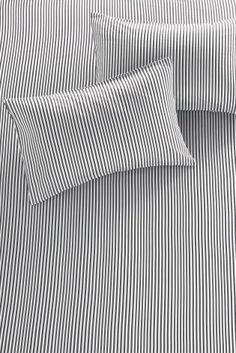 Buy Grey Stripe Fitted Sheet Set online today at Next: Australia