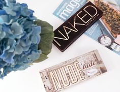 Nude Palettes : Urban Decay Naked Palette vs TheBalm NUDE'tude Palette