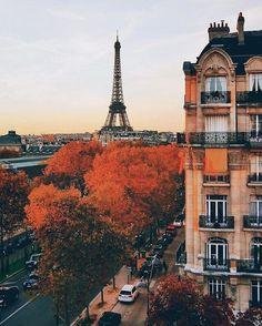 fall in paris
