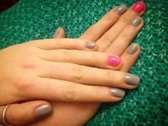 Semilac hybryda | Neon Pink + Lady in Grey