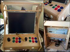 Le DIY de Droofy: Mini borne arcade : Bartop