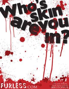 Anti-Fur Poster Comp by Adam Wilson, via Behance