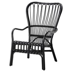 STORSELE Armchair IKEA - Black Rattan Chair - See how we plan to use it at the Granada House, we can't wait to get this chair in our space. Ikea for the win! Check out our plans for the Granada house at Hello Good Design. Chaise Ikea, Rattan Armchair, Rattan Furniture, Home Furniture, Outdoor Furniture, Rattan Chairs, Furniture Buyers, Eames Chairs, Chair Cushions