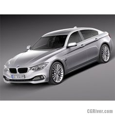 BMW 4 Series Gran Coupe 2015 - 3D Model