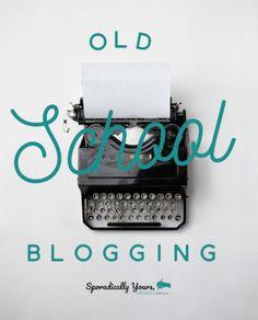 Old School Blogging - The Way We Were https://www.kenyagjohnson.com/blog/2018/1/9/old-school-blogging