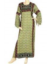 aljalabiya.com: Jordanian style cotton jalabiya (WN-722)    $134.00