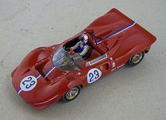 Ferrari 350 P V12/60° 3v DOHC 1/24 digital-C slotcar built by Jörg Stephan, collection afgh