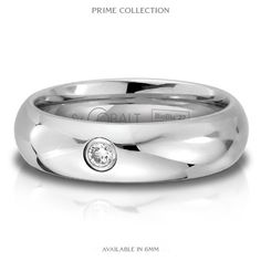 Simple and Classic. Cobalt ring made of the most durable contemporary alloy metal