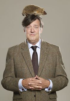 Stephen Fry - actor, screenwriter, author, playwright, journalist, poet, comedian, television presenter and film director