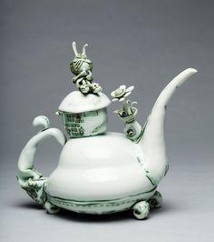 fairytale inspired teapot