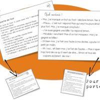 Rseeg -  Les petits textes en grammaire et en conjugaison