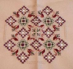 You Sew Should...: Hardanger Finish!