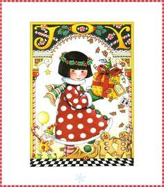 Mary Engelbreit Blooming Flowers Wallpaper