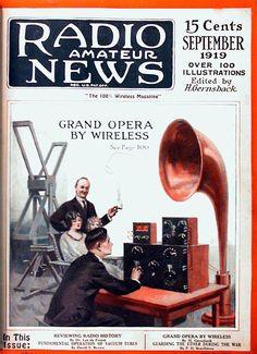 Reviewing Radio History, Radio News Magazine, September issue 1919