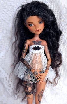 Really Cool Custom Monster High Doll