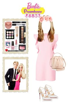 """💕Barbie🌸"" by julianafb ❤ liked on Polyvore featuring Witchery, Christian Louboutin, OPI, Céline Lefébure, tarte, Yves Saint Laurent, NARS Cosmetics, Rodin, Christian Dior and MILK MAKEUP"