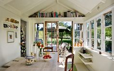 read a book and soak up sun in this room all summer long