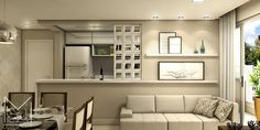 Miriã Campos | Arquitetura • Design • Maquete Eletrônica 3D | Design interiores sala apartamento 2 – Projeto e Maquete eletronica 3D – Belo Horizonte BH – Miriã Campos MCampos arquitetura