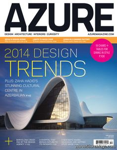 Magazines to Free download !!!]  AZURE - October 2013 Canada PDF cover magazine full