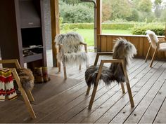 A Flock of Chairs by designer Melle Koot