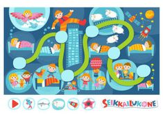Seikkailukone: Yöseikkailu Kids Rugs, Free, Home Decor, Education, Games, Decoration Home, Kid Friendly Rugs, Room Decor, Interior Design