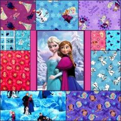 Disney Frozen Fabric Sale - 50% Off 1 Day Only!