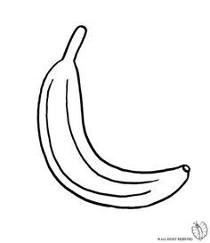 Disegno di frutta da colorare disegni di alimenti da for Bocca da colorare