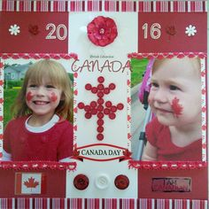 Canada Day, Scrapbook Pages, Frame, Cards, Home Decor, Style, Picture Frame, Swag, Decoration Home