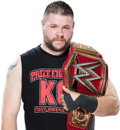 Kevin Owens WWE Universal Champion 2016 Render by…