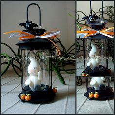 Halloween  porcelana fria pasta francesa masa flexible fimo fondant figurine modelado topper polymer clay