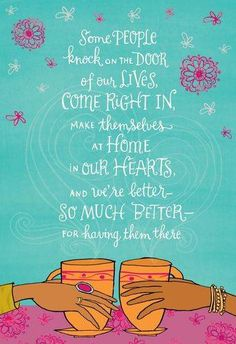 At Home In My Heart Birthday Card Large Special Friend Wishes