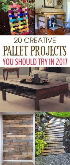 20 Creative Pallet Projects You Should Try In 2017 More