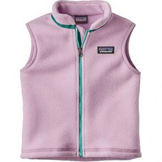 Warm and snuggly, the Patagonia Baby Synchilla® Fleece Vest is built of soft, breathable recycled polyester double-faced fleece. Outdoor Vest, Outdoor Baby, Outdoor Outfit, Patagonia Vest, Patagonia Synchilla, Vest Outfits, Kids Outfits, Casual Outfits, Baby Fur Vest