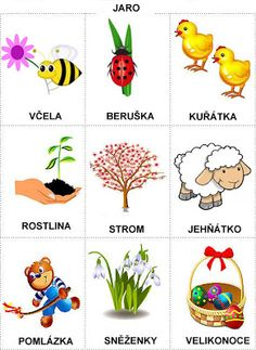 Pro Štípu: Období JARO Easter Activities For Kids, Abc Activities, Spring Activities, Weather For Kids, Diy And Crafts, Crafts For Kids, Stipa, Learning English For Kids, Seasons Of The Year